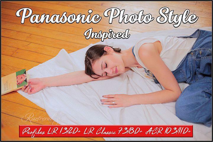 Panasonic Photo Style Inspired profiles LR ACR