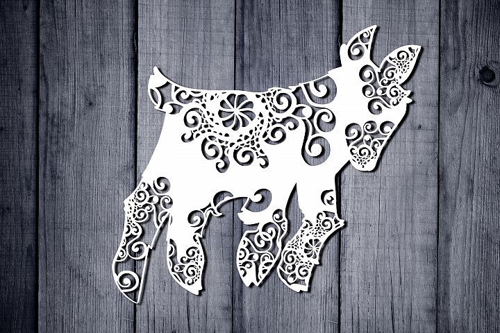 Mandala Fox Svg, Baby Fox Svg, Mandala Svg, Zentangle Svg