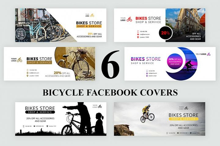 Bicycle Facebook Covers
