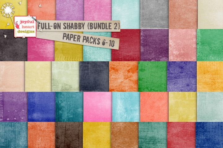 Full-On Shabby {Bundle Two}