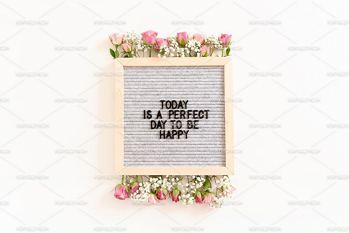 Quote Today is a perfect day to be happy