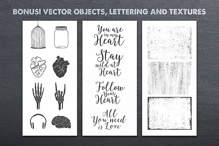 Anatomy of Love (Collection of Cards + Bonus) - Free Design of The Week Design3