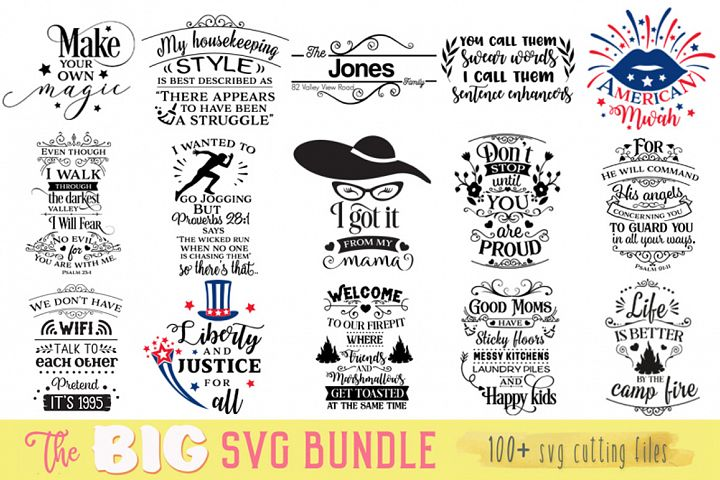The Big SVG Cut Files Bundle - Limited Promotion!