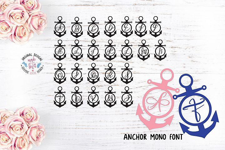 Anchor Mono Font