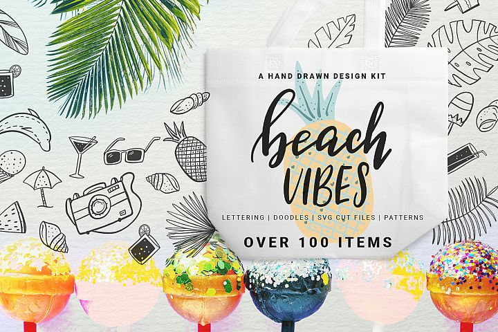 Beach Vibes - Summer design kit