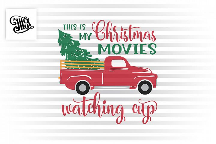 This is my Cristmas movie watching cup