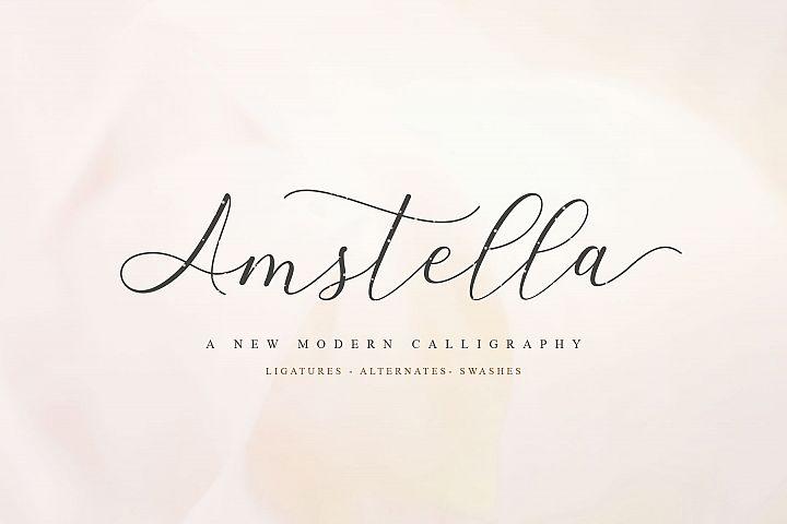 Amstella Modern Calligraphy