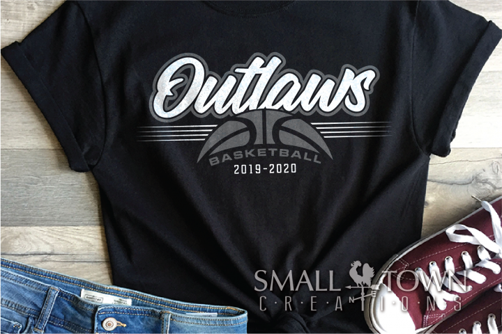 Outlaw, Outlaw Basketball, Sport, Design, PRINT, CUT, DESIGN