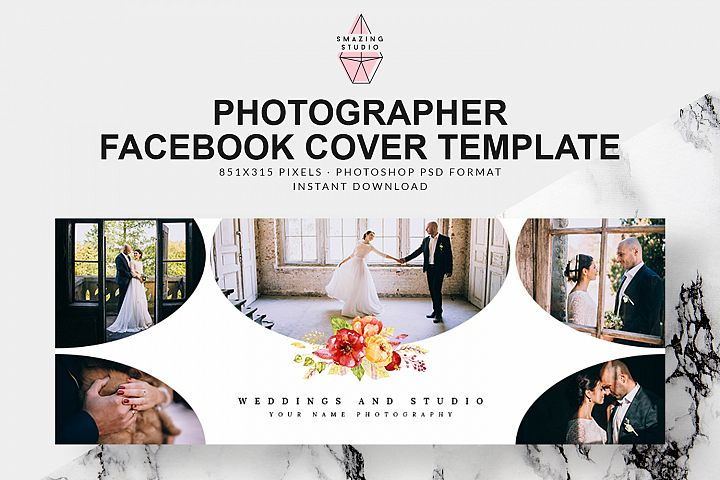Photographer Facebook Cover Template - FBC006
