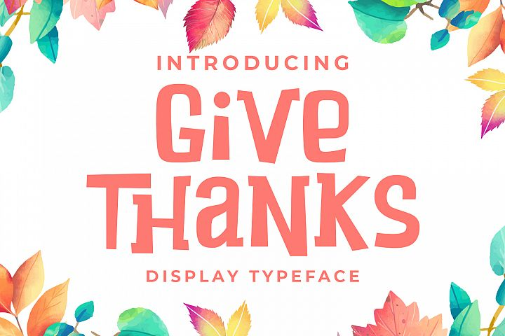Give Thanks example image 1