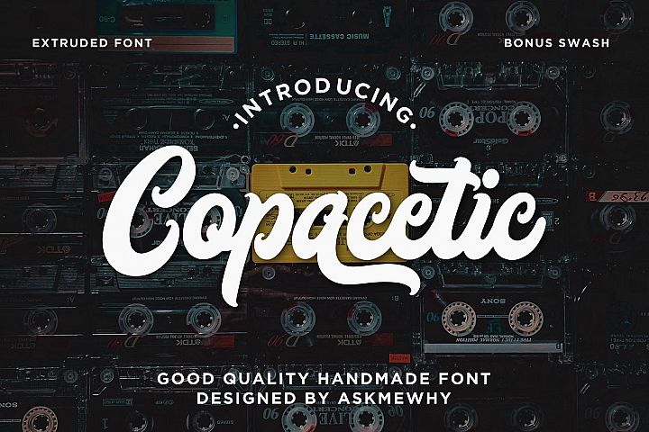 Copacetic - Layered Bold Script