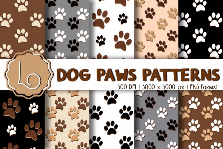 Dog Paws Patterns