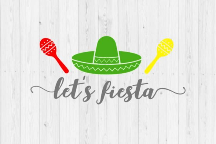 Lets Fiesta, Cinco de Mayo, Cinco de Mayo SVG, instant download, digital download, commercial use, commercial license, here to fiesta, SVG