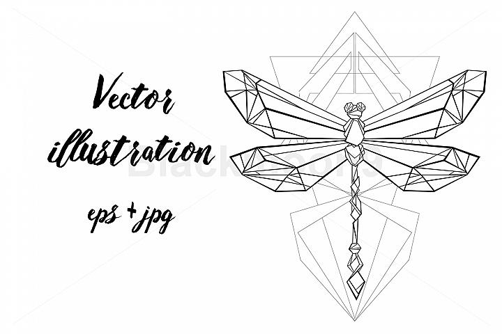Polygonal Dragonfly