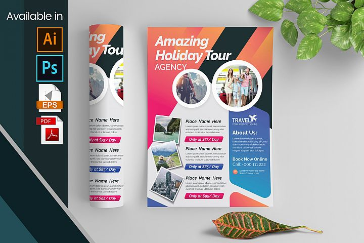 Travel Flyer Layout