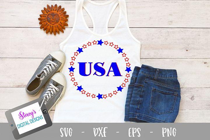 USA SVG - Patriotic SVG file - 4th of July