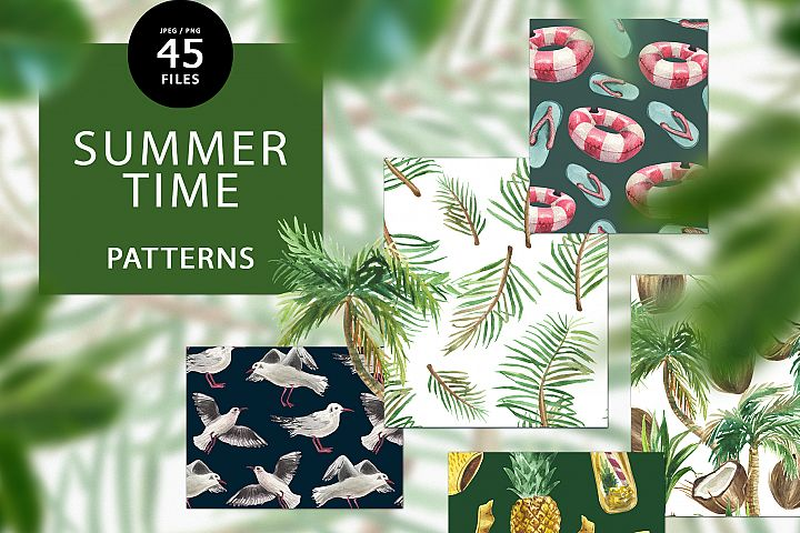 Summer time patterns