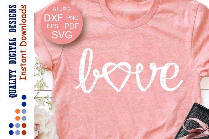 Love sign svg file Knot clip art Love Wording