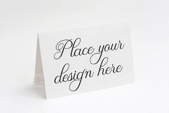 5x7 Greeting Card Invitation Mockup horizontal smart psd