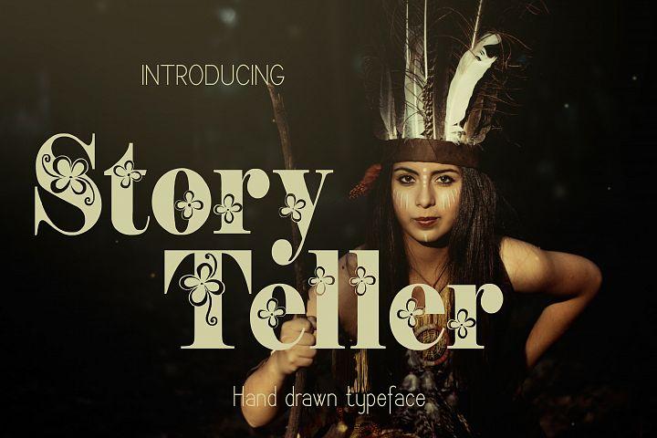 Storyteller font