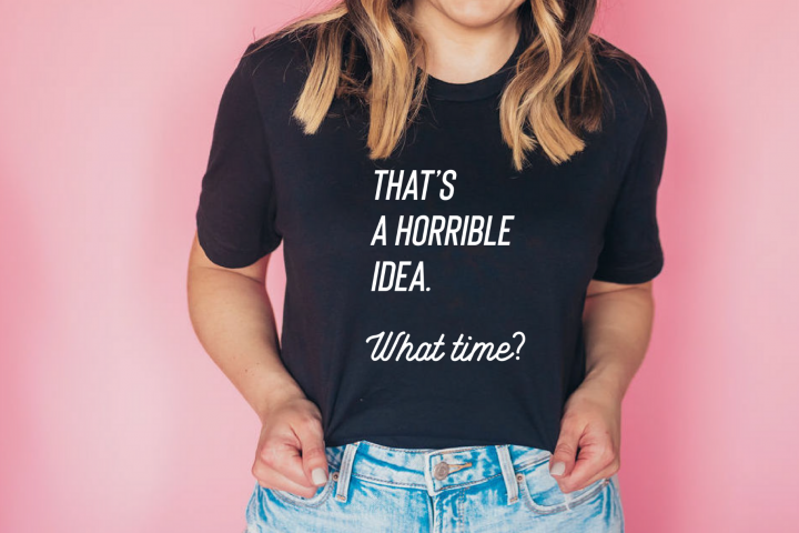 Thats a horrible idea. What time? SVG