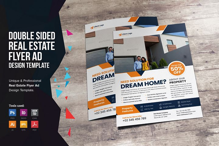Real Estate Flyer Design v2