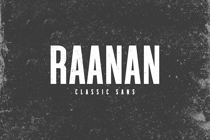 Raanan Classic Sans Serif Font Family