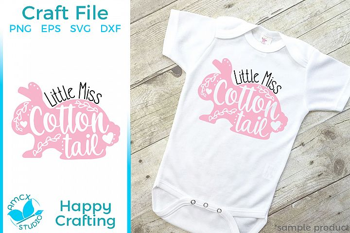 Little Miss Cotton Tail - A Cute Easter Bunny File