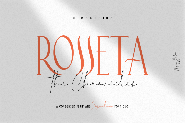 Rosseta The Chronicles
