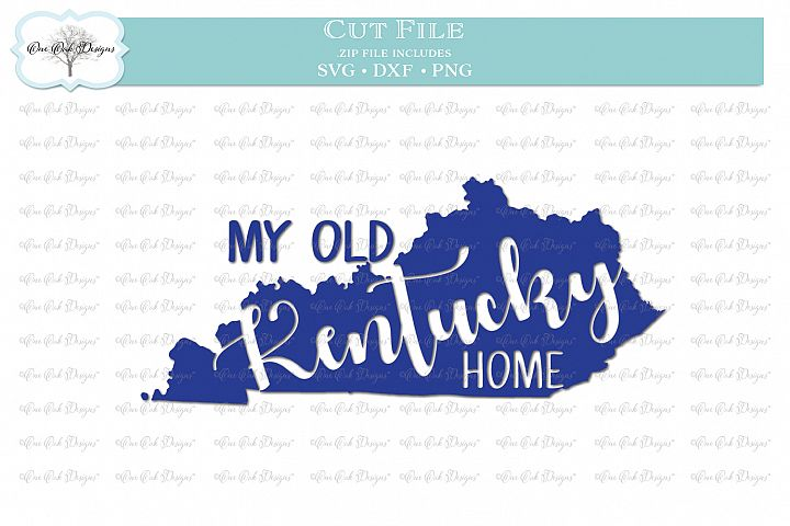 My Old Kentucky Home SVG DXF PNG