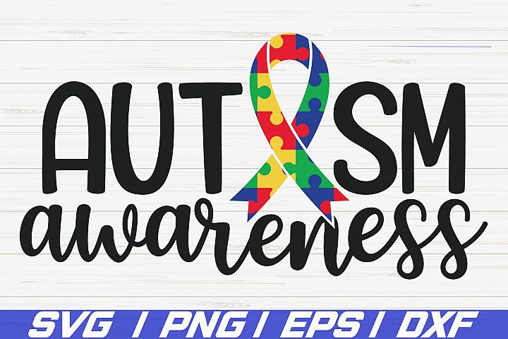 Autism Awareness SVG / Cut Files / Commercial use / Cricut