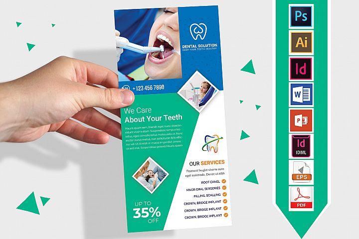 Rack Card | Dental DL Flyer Vol-03