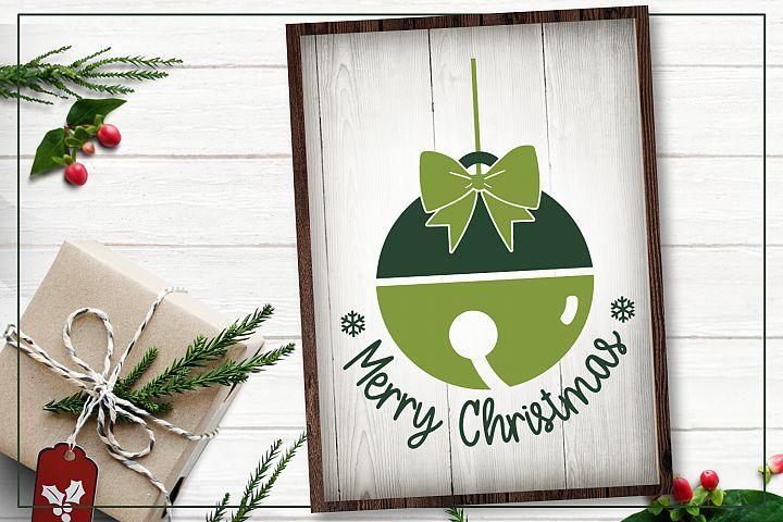 Bell merry Christmas