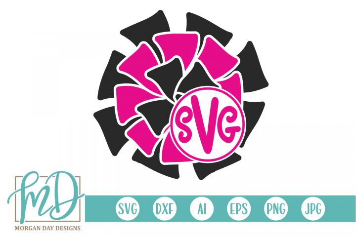 Cheer Monogram SVG, DXF, AI, EPS, PNG, JPEG