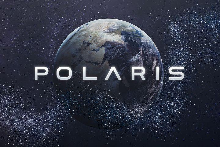 Polaris - Futuristic Font