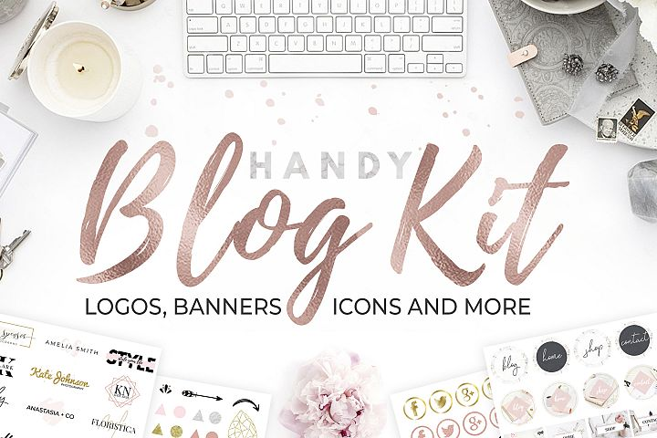 Handy Blog Kit. DIY Webdesign