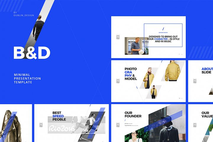 B&D-Powerpoint & Keynote Template