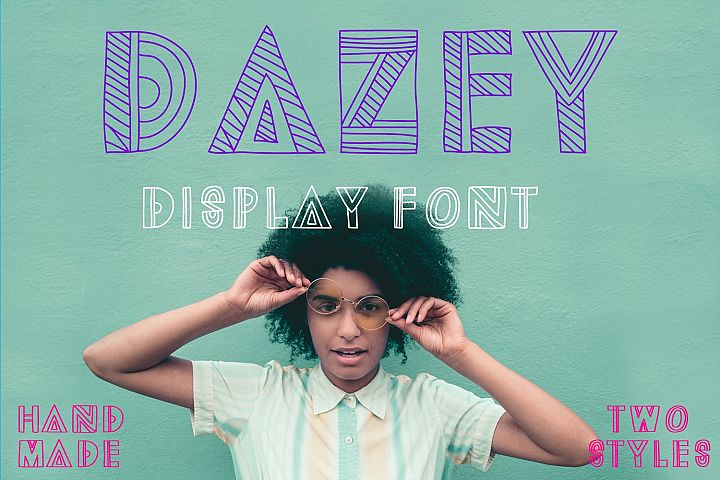 Dazey | A Fun Display Font