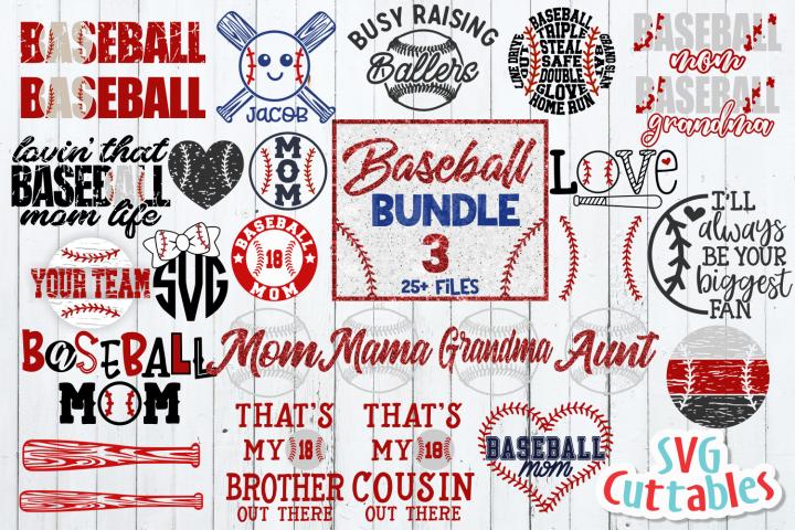 Baseball Bundle 3 | SVG Cut File