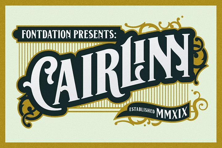 Cairlinn | Vintage Font