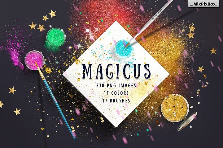 MAGICUS - dust and brushes.