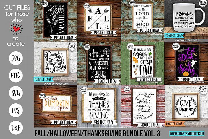Fall/Halloween/Thanksgiving Vol. 3