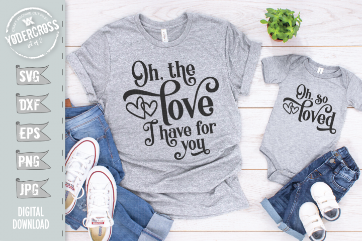 Mommy and Me SVG Bundle