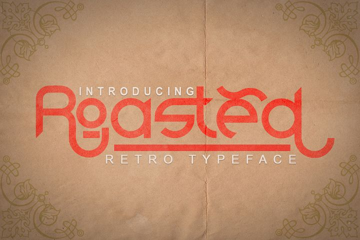 Roasted - Retro Typeface