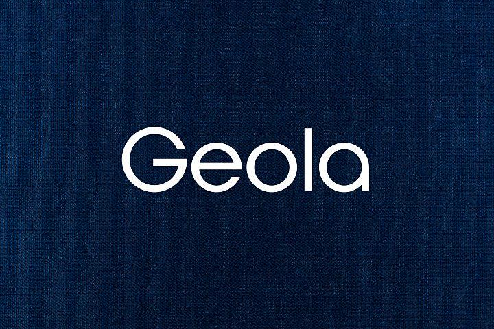 Geola - Logo Design Font
