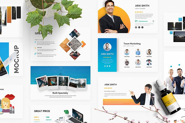 Mongo Multipurpose Powerpoint Template