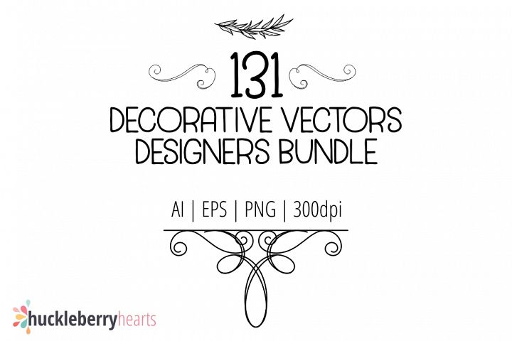 Decorative Vector Designer Bundle
