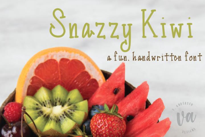 Snazzy Kiwi