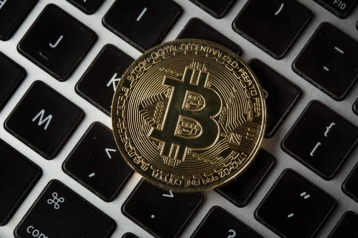 Golden Bitcoin Coin JPG set example 6