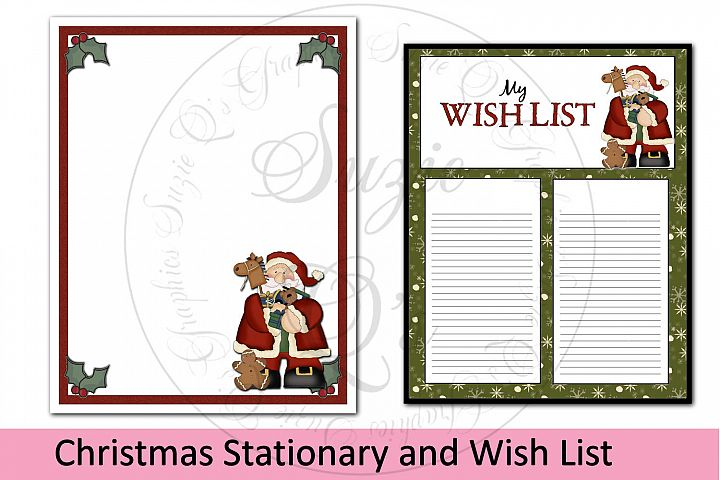 Christmas Stationary and Wish List